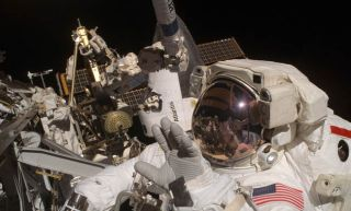 Mission Atlantis: Astronauts to Rehearse Shuttle Fix, Stow Solar Array