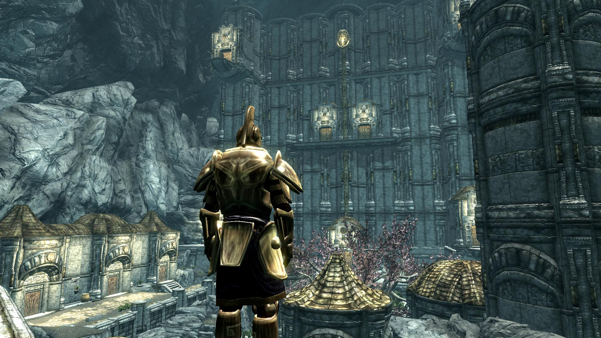 the best skyrim mods: the forgotten city