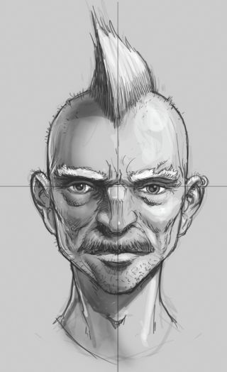 How to draw a portrait from different angles | Creative Bloq