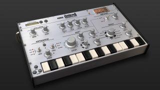 namm 2014 video korg unveils gadget synth studio for ipad musicradar. Black Bedroom Furniture Sets. Home Design Ideas