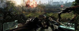 Crysis 3 biodome boom