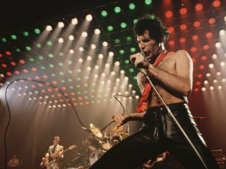Freddie Mercury having such a good time having a ball