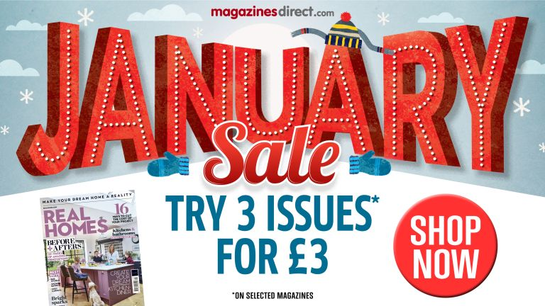 Subscribe to Real Homes magazine: 3 issues for £3