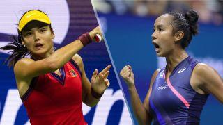 Emma Raducanu vs Leylah Annie Fernandez live stream