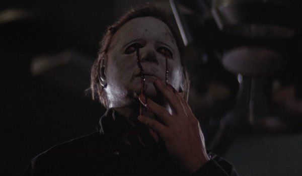 Michael Myers Halloween 2 bleeding eyes