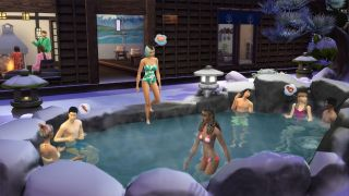 The Sims 4 Snowy Escape preview
