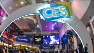 CES trade show floor
