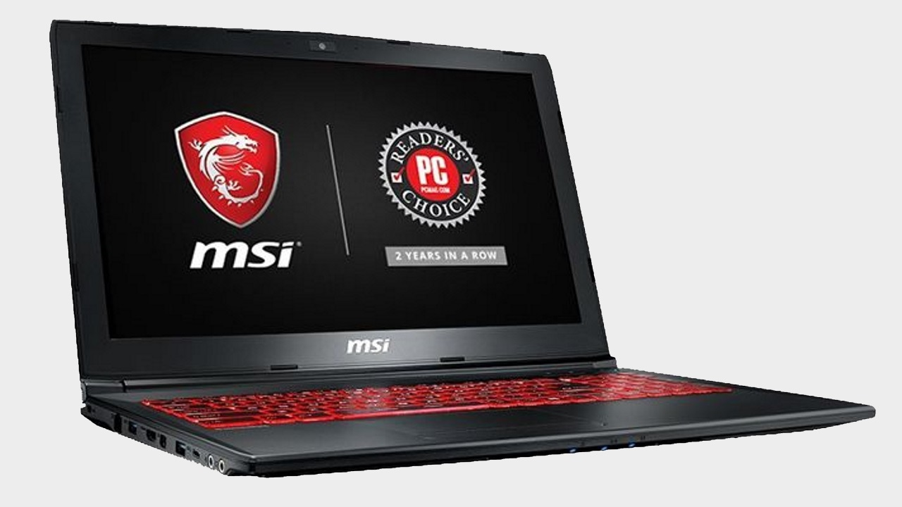 c639437de81 You only have a few hours to take high-end gaming on the go with a 20%  discount on this MSI gaming laptop ($799.00) during Amazon Prime Day |  GamesRadar+