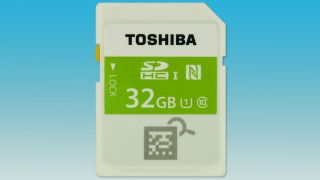 Toshiba's new card packs a lot more than just memory.