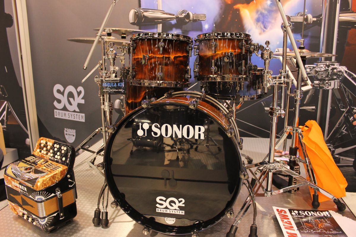 Namm 2014 Sonor Drums Stand In Pictures Musicradar