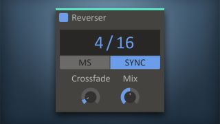 Reverser comes with Crossfade and Mix controls, but you don't need us to tell you that.