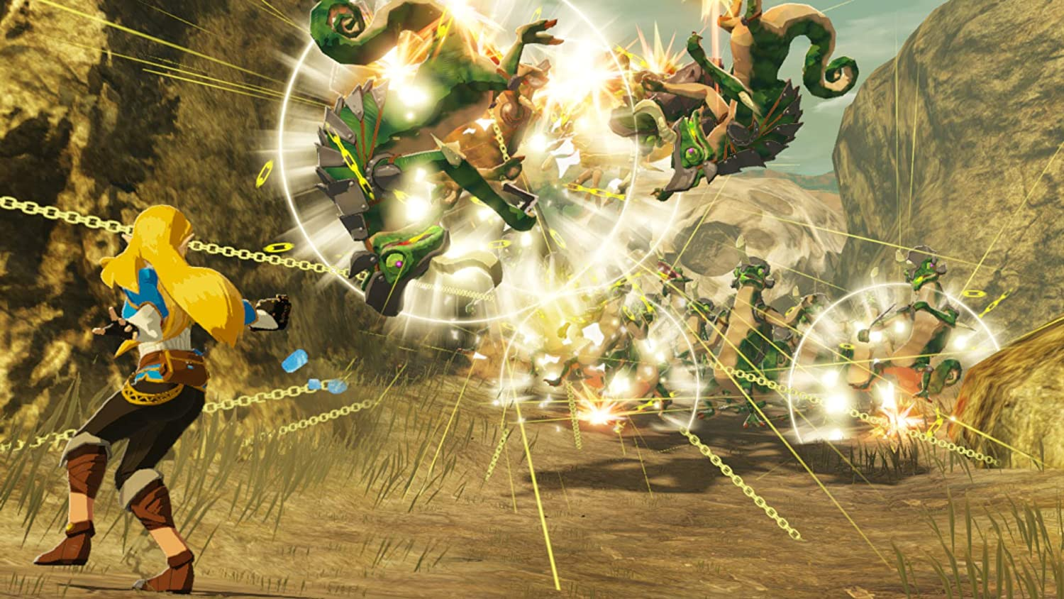 best Nintendo Switch games: Hyrule Warriors Age of Calamity