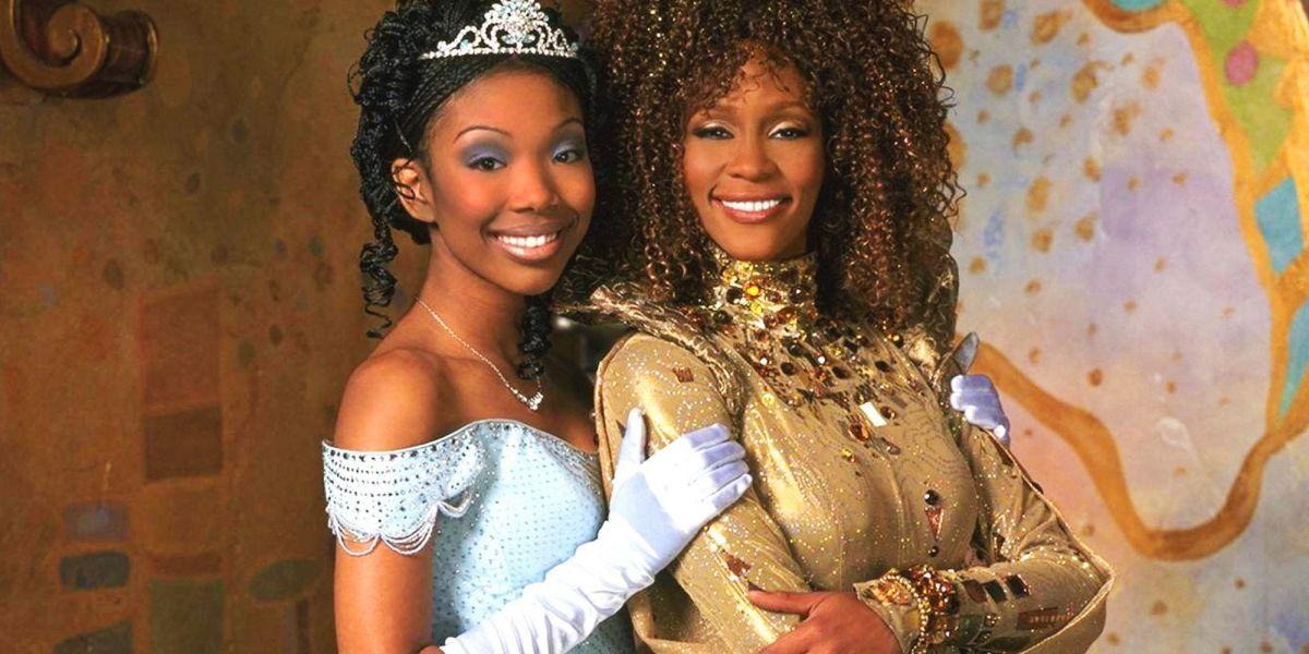 Brandy and Whitney Houston in Cinderella.