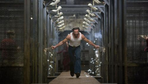 X-Men Origins: Wolverine - Hugh Jackman's Wolverine sets free the young mutant prisoners held on Three Mile Island