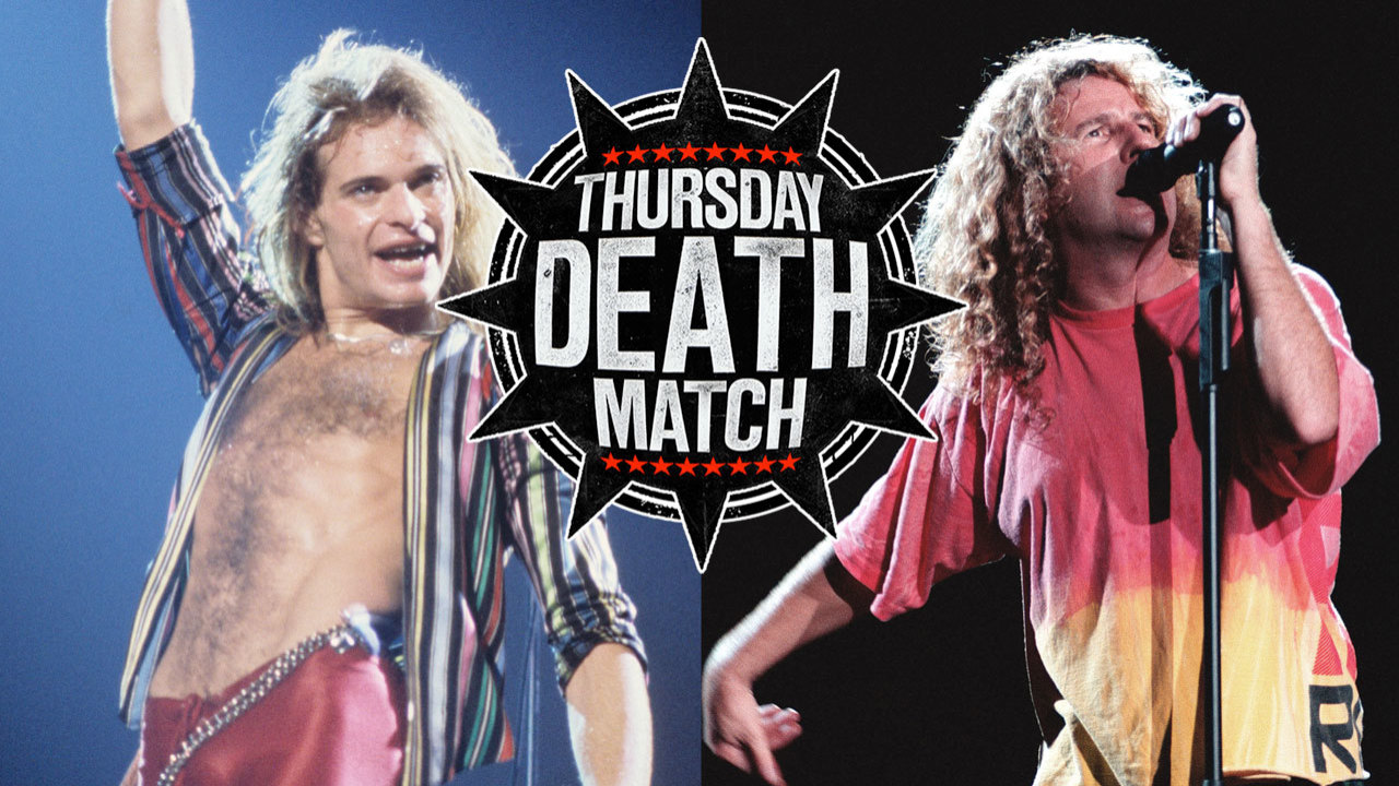 The Thursday Death Match Dave Lee Roth Vs Sammy Hagar Louder