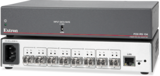 Extron Fiber Optic RS-232 Inserter Now Shipping