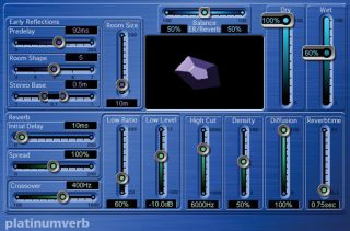 Platinumverb is an industry standard reverb It comes free with Logic