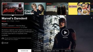 New Netflix web UI