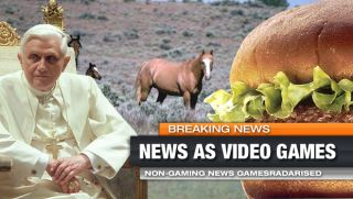 Real-world news turned into video games