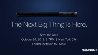 Samsung Oct 24 invite