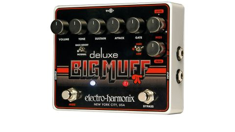 The Deluxe Big Muff Pi adds a whole range of new controls to the venerable fuzz