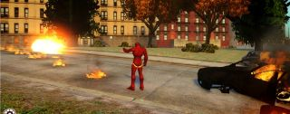 Grand Theft Auto IV Iron Man mod