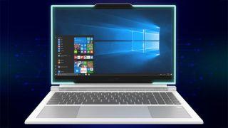 Nextsgo Avita Admiror II laptop with three webcams and built-in light