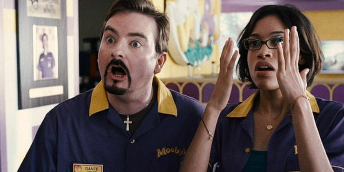 Kevin Smith confirms Dante and Randal will be back for Clerks III