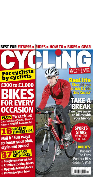 Cycling Active Jan 2010 Cover