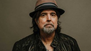 Phil Campbell wearing a nice hat