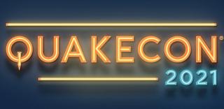 Quakecon 2021 logo.