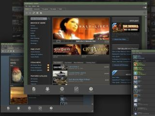 Steam - hugely successful PC platform