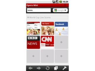 Opera Mini bumped up to 5 1 for Android