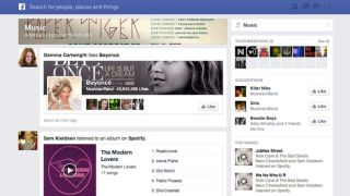 Facebook music tab