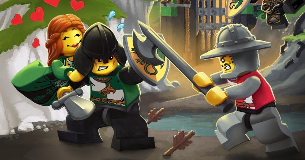 Lego Universe Concept Art