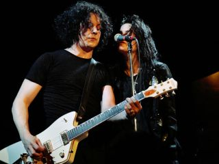 Jack White and Alison Mosshart at The Bowery Ballroom