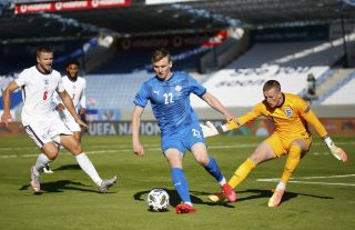 Iceland England Nations League Soccer