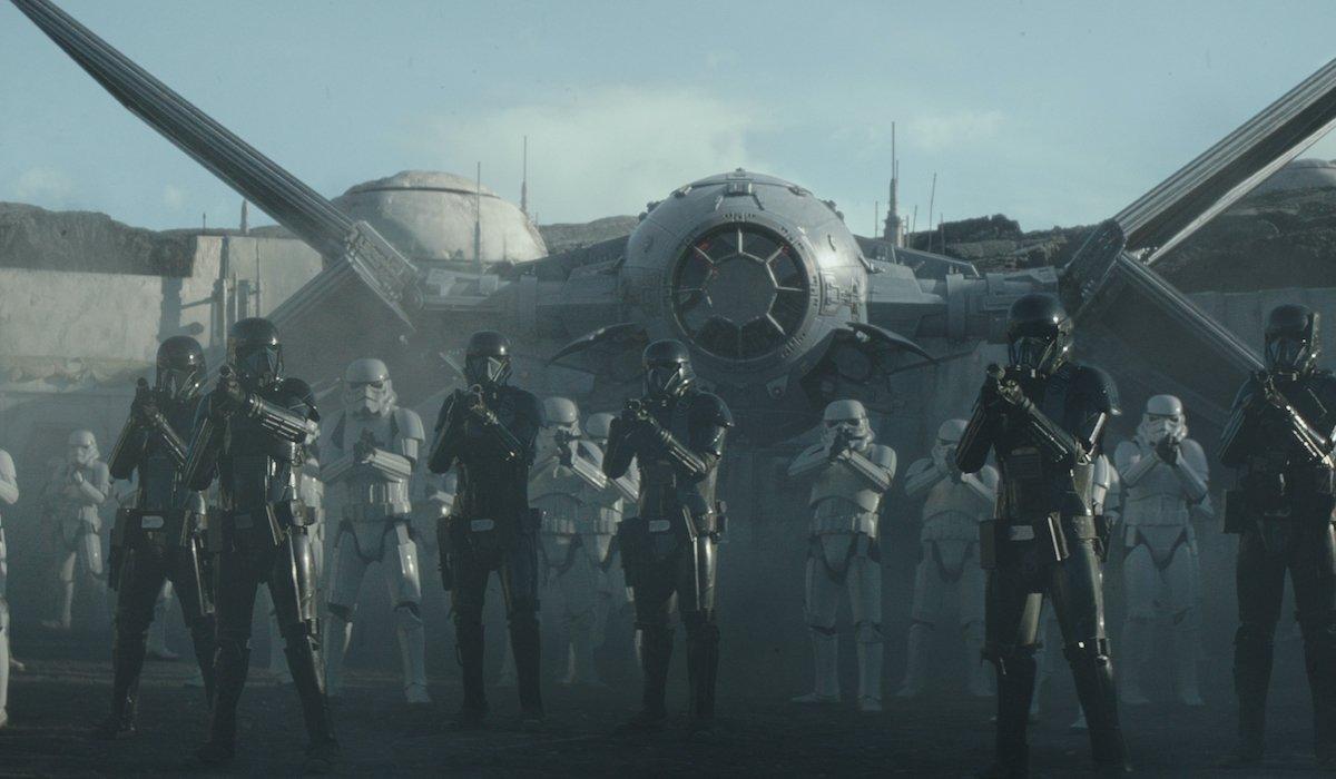 the mandalorian storm troopers ambush