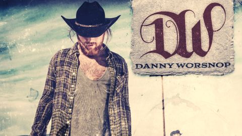 Cover Art for Danny Worsnop - The Long Road Home album
