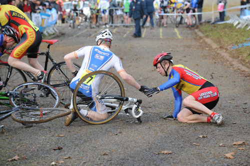 Crash, National Trophy, Rutland 2011
