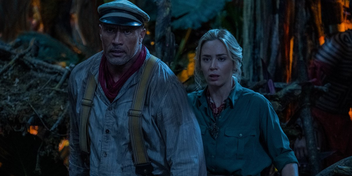 Jungle Cruise Dwayne Johnson and Emily Blunt