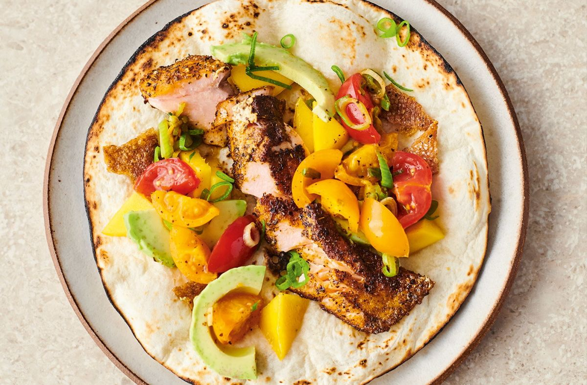 Jamie Oliver's salmon tacos – try this easy recipe that's tasty and healthy