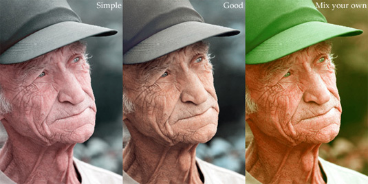 Free Photoshop actions: 2-Strip technicolor
