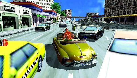 crazy taxi psp review