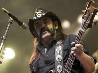 The legendary Motorhead main man