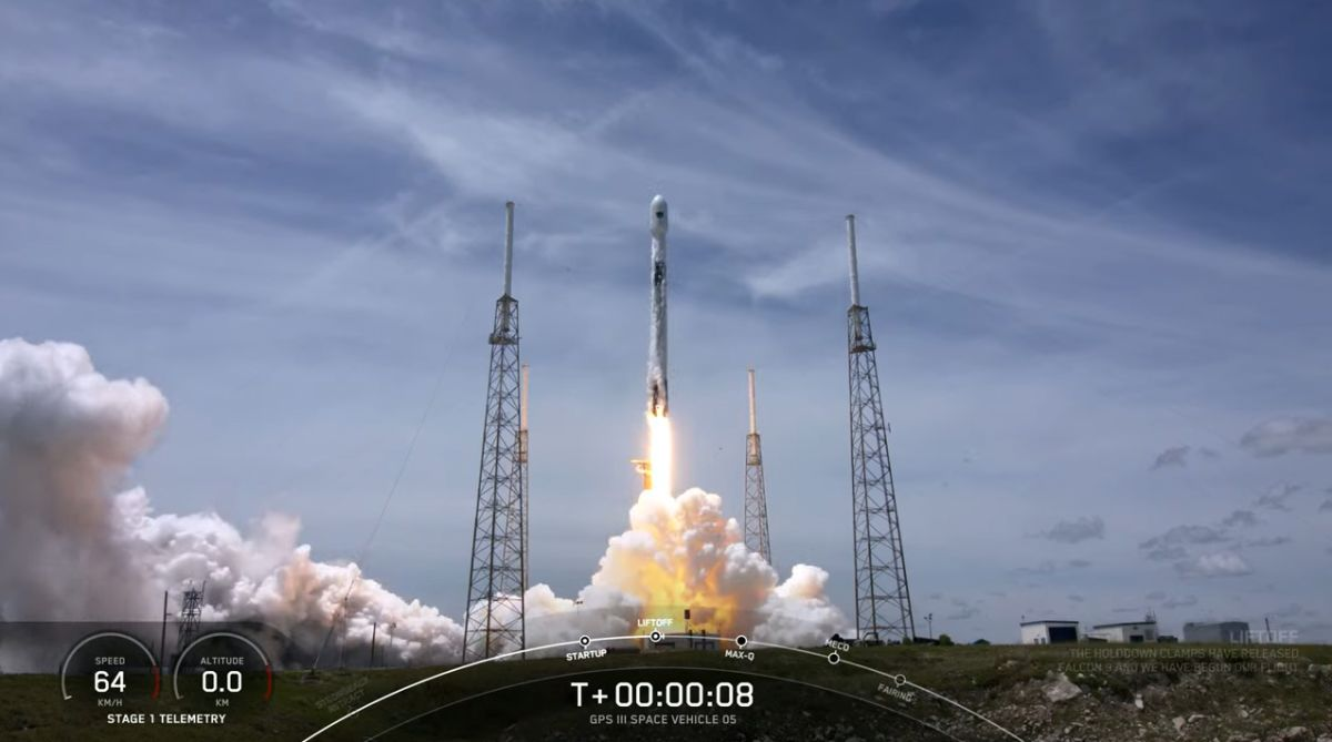 SpaceX launches advanced GPS satellite for US Space Force, sticks rocket landing at sea