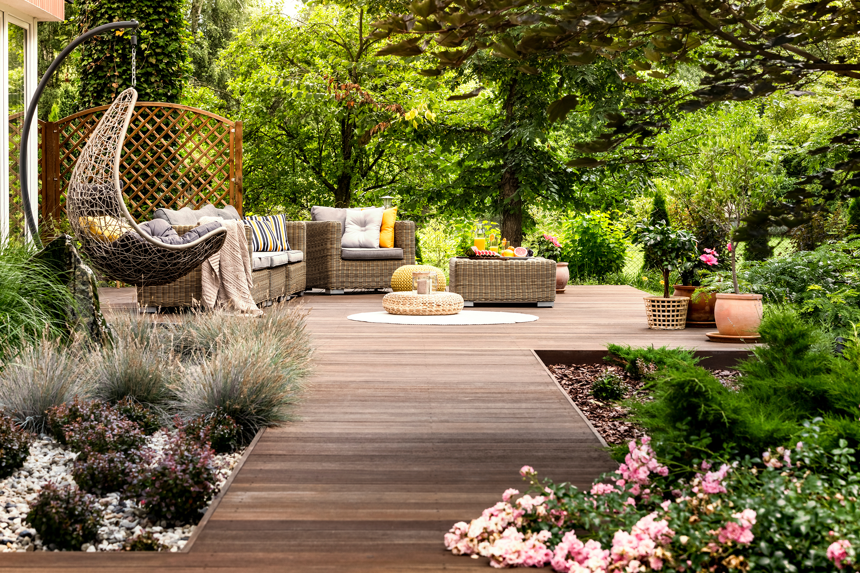 Garden Landscaping Ideas 10 Steps To Landscape A Garden From Scratch Real Homes