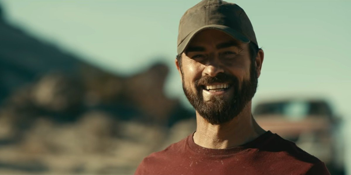 Justin Theroux as Allie Fox in the trailer for Apple TV+'s The Mosquito Coast