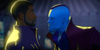 T'Challa and Yondu in What If