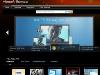 Silverlight video library
